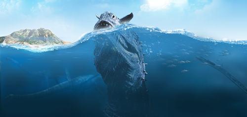 Los monstruos marinos